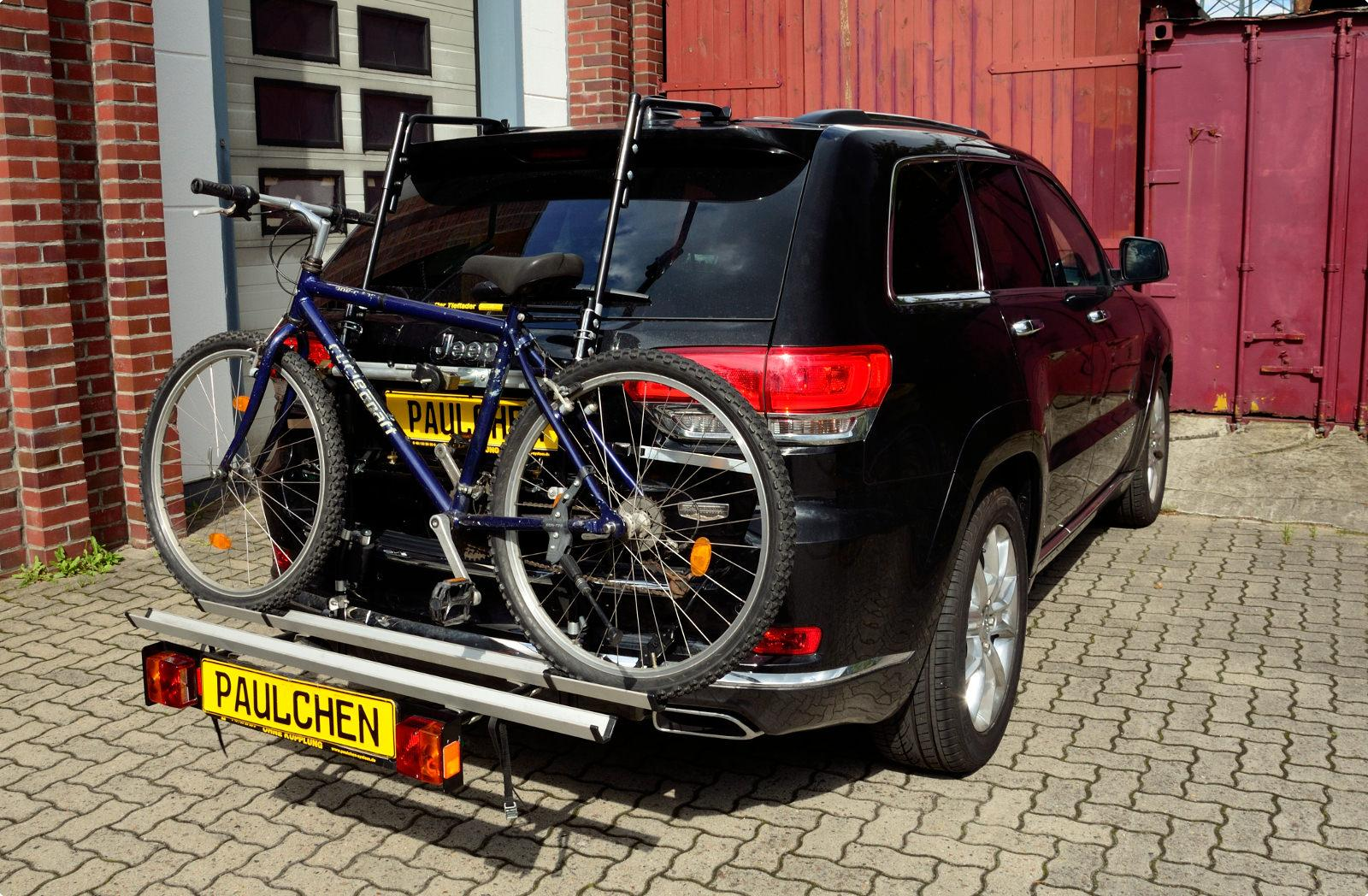 bicycle carrier for chrysler jeep grand cherokee iv facelift wk2 paulchen hecktr ger system. Black Bedroom Furniture Sets. Home Design Ideas