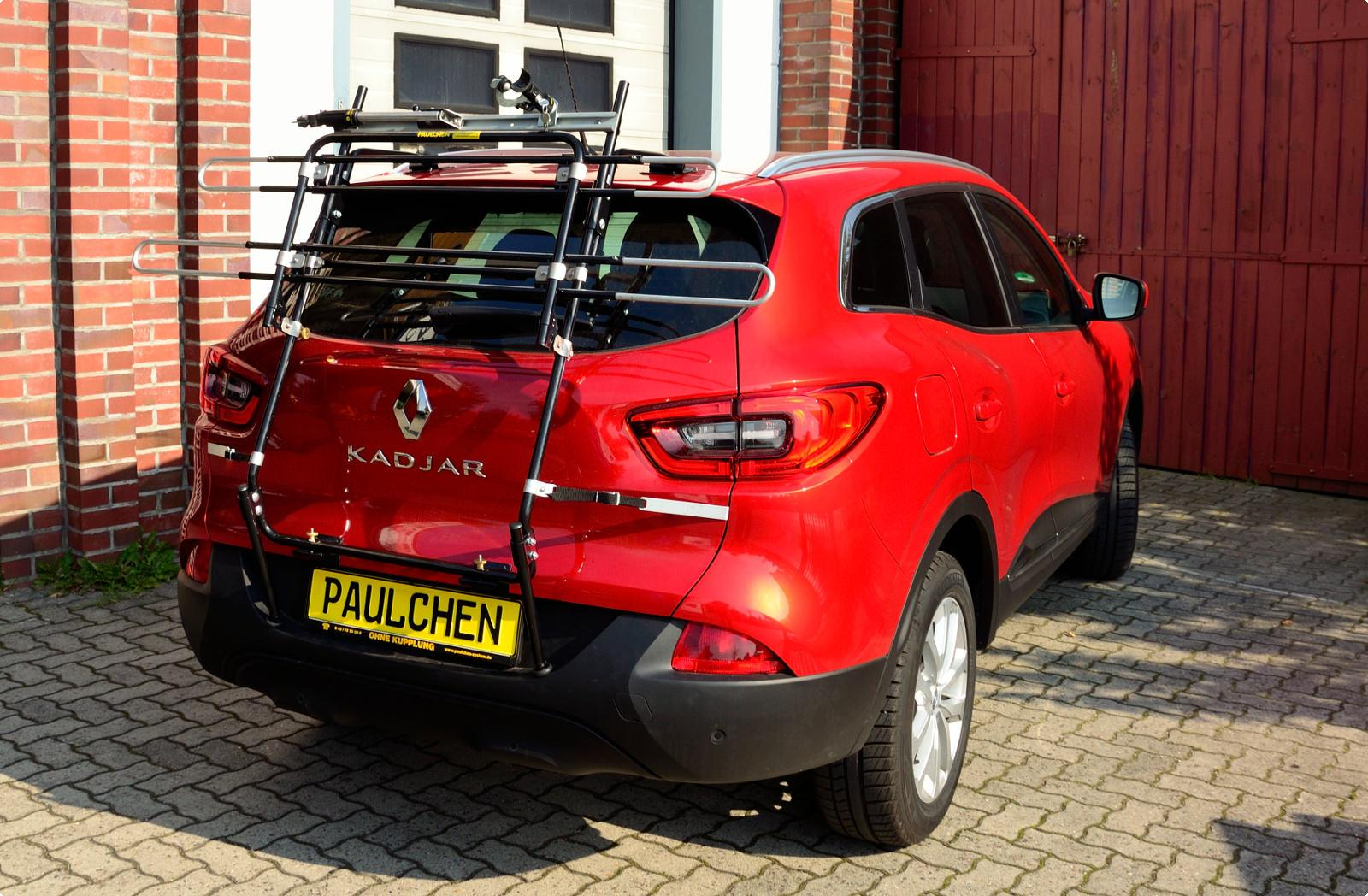 Bicycle Carrier For Renault Kadjar Paulchen Hecktr 228 Ger