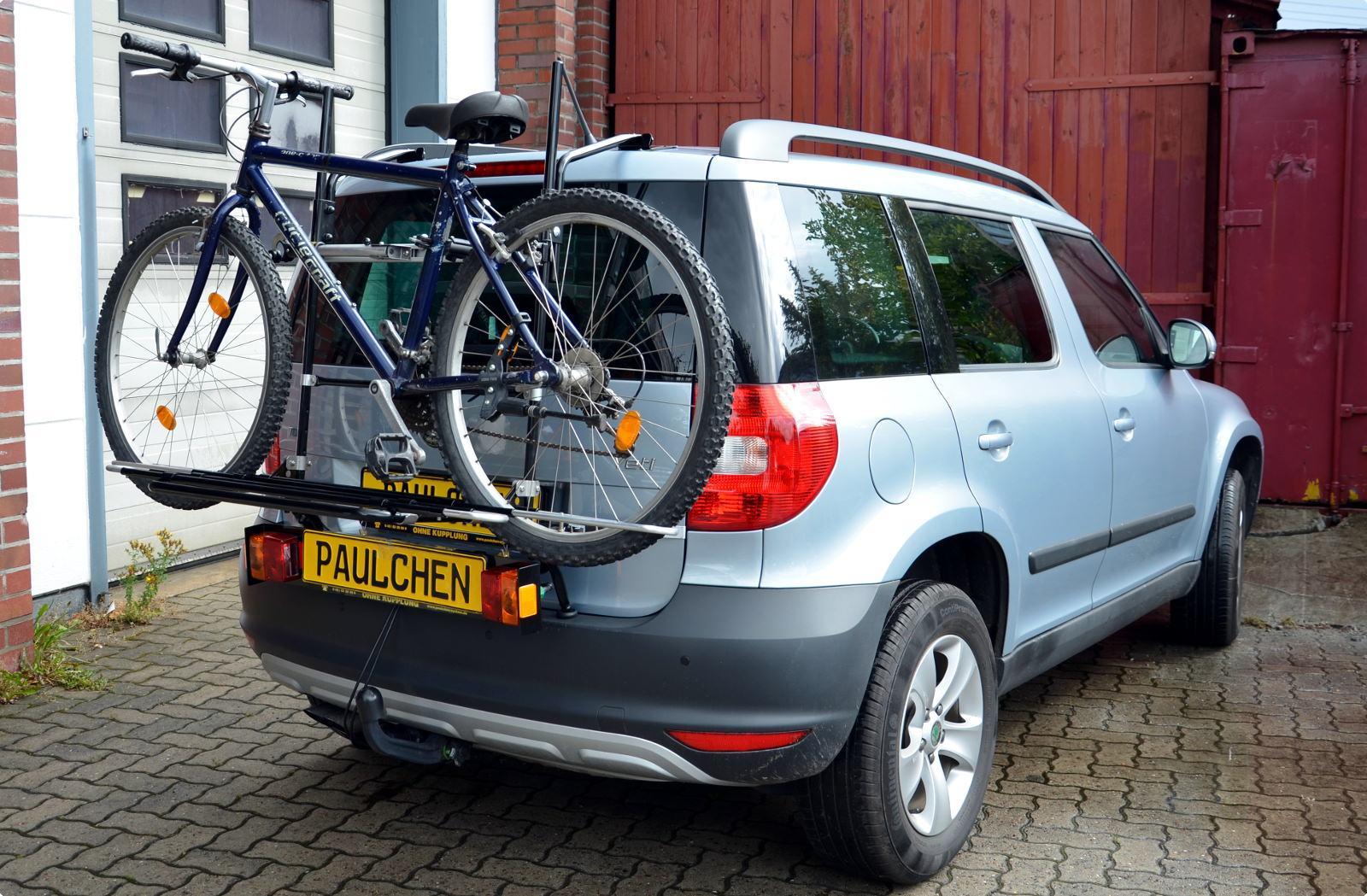 Bike Rack For Skoda Yeti 5l Paulchen Hecktr 228 Ger System