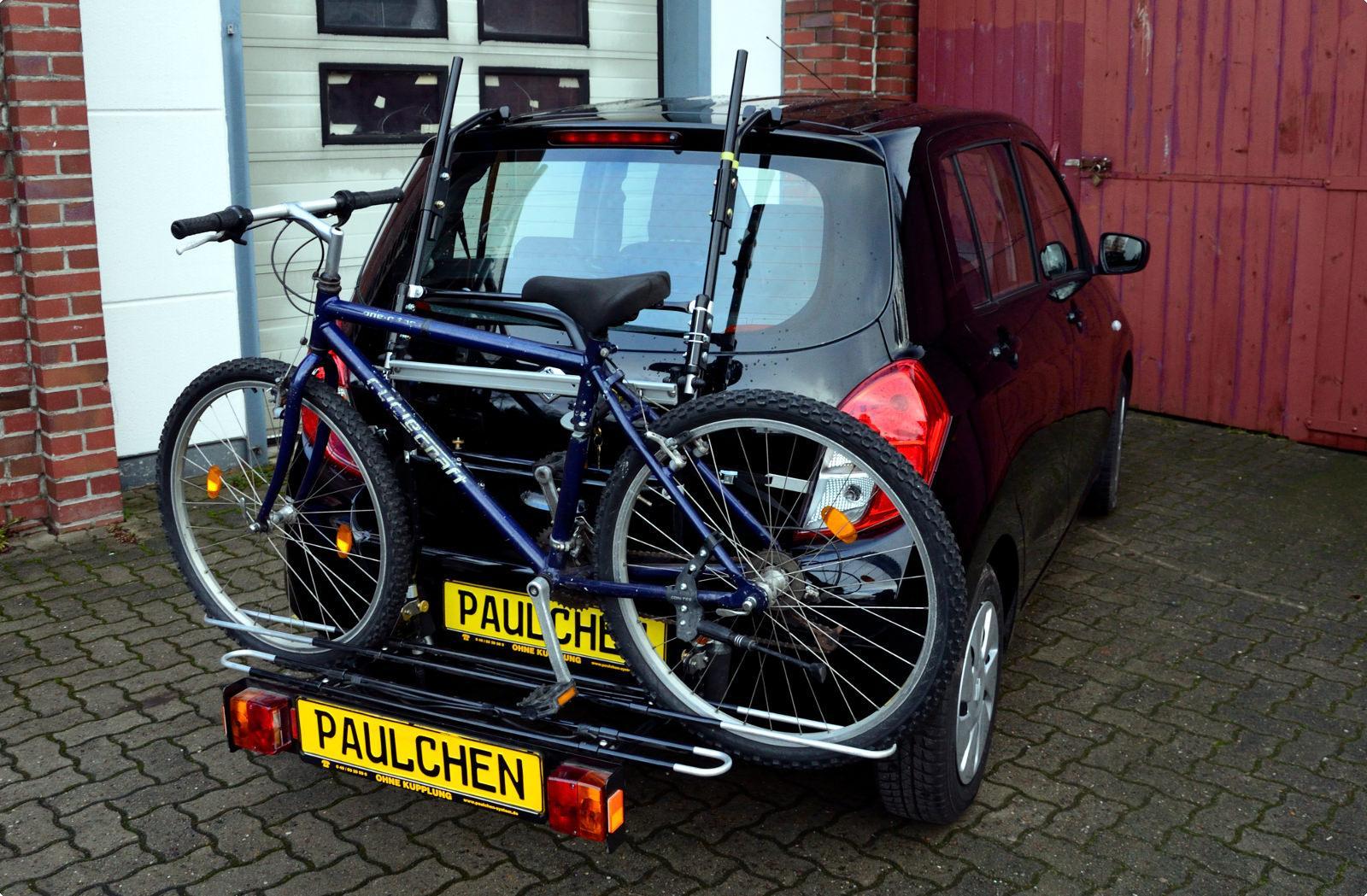 Bicycle Carrier For Suzuki Celerio Paulchen Hecktr 228 Ger