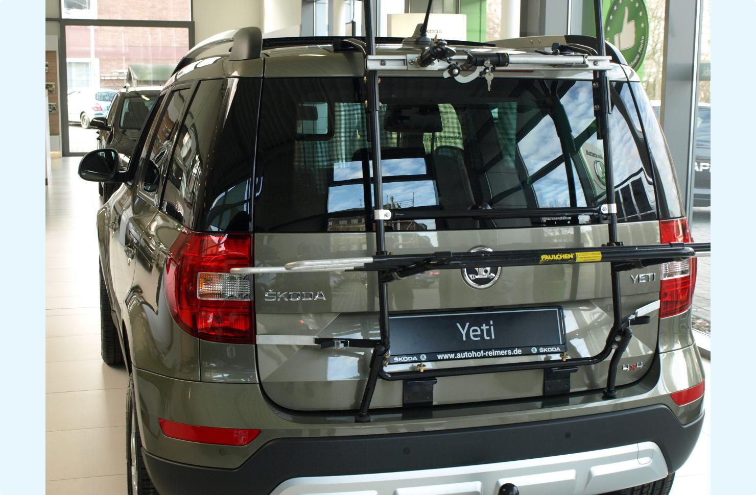 Bicycle Carrier For Skoda Yeti Facelift Paulchen Hecktrager