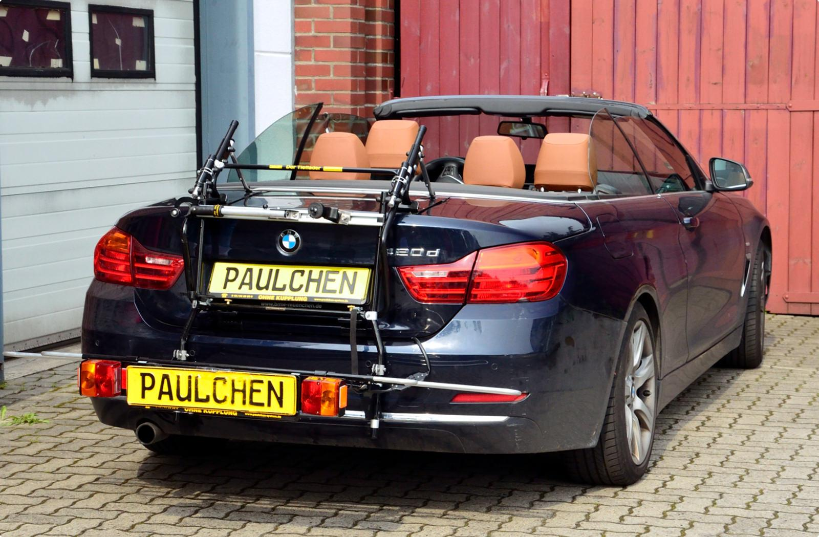 bicycle carrier for bmw 4er cabrio f33 paulchen. Black Bedroom Furniture Sets. Home Design Ideas