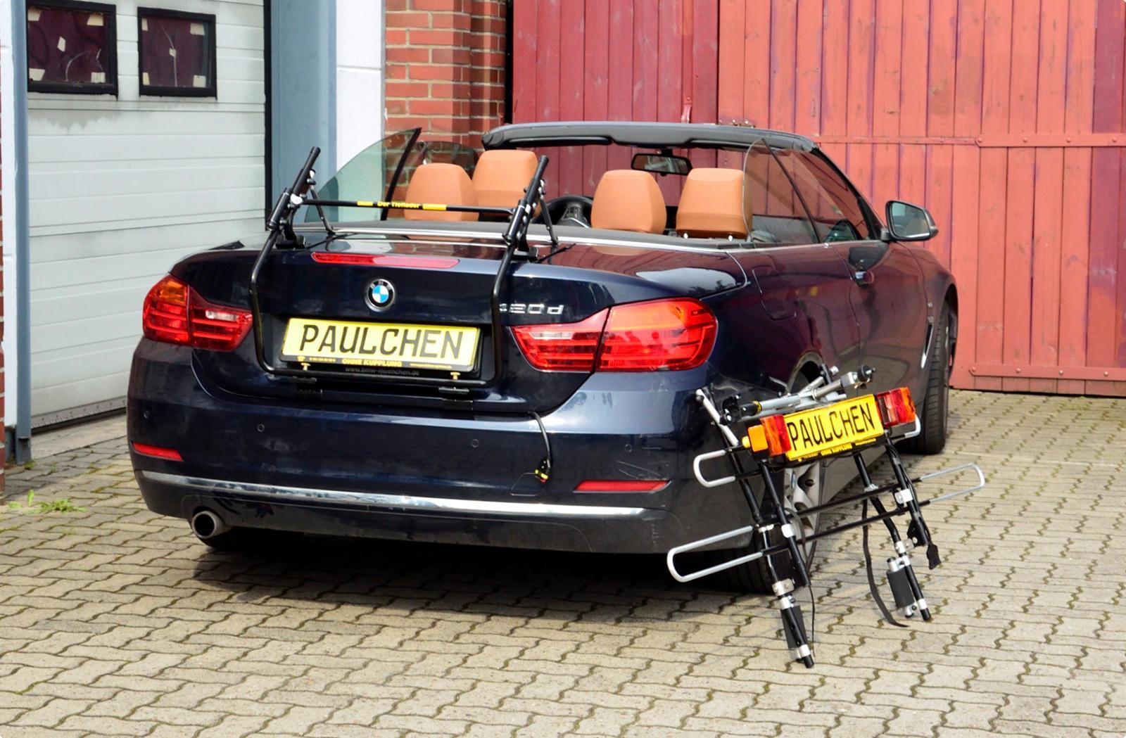 fahrradtr ger f r bmw 4er cabrio f33 paulchen hecktr ger system fahrradtr ger. Black Bedroom Furniture Sets. Home Design Ideas