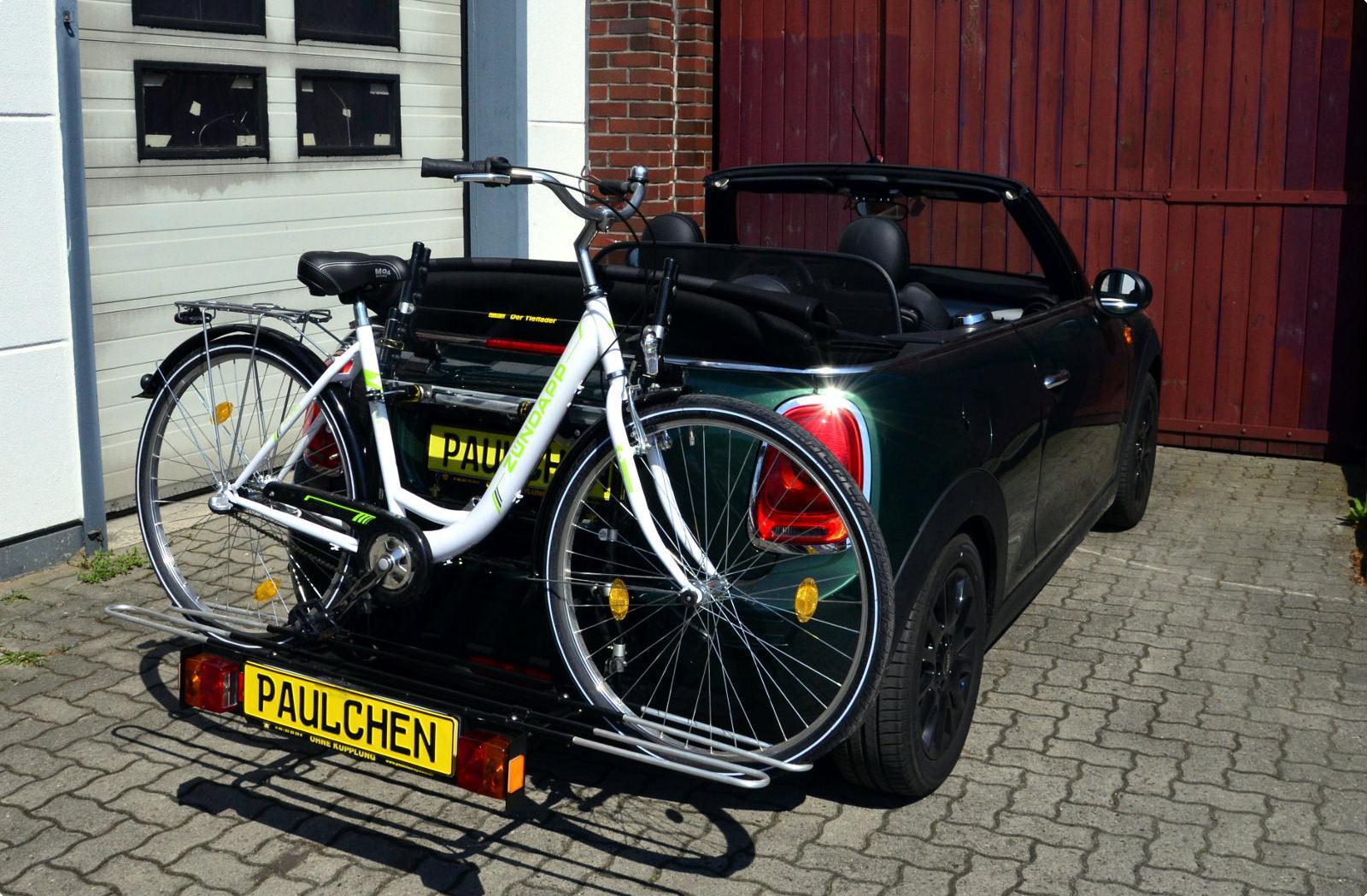 fahrradtr ger f r mini cooper cabrio mini one cabrio. Black Bedroom Furniture Sets. Home Design Ideas