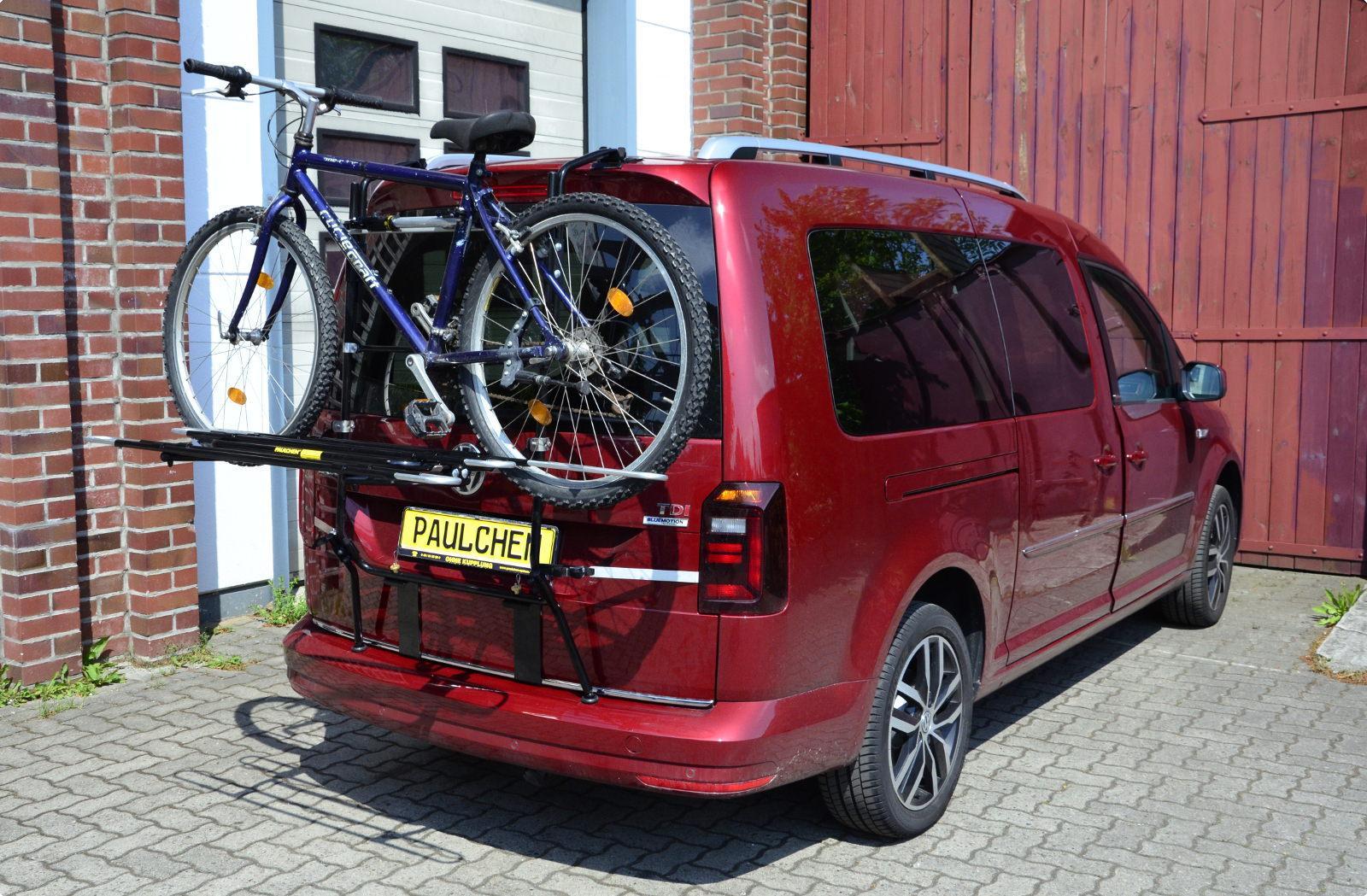 Caddy Iv Paulchen Heck Und Fahrradtr 228 Ger System