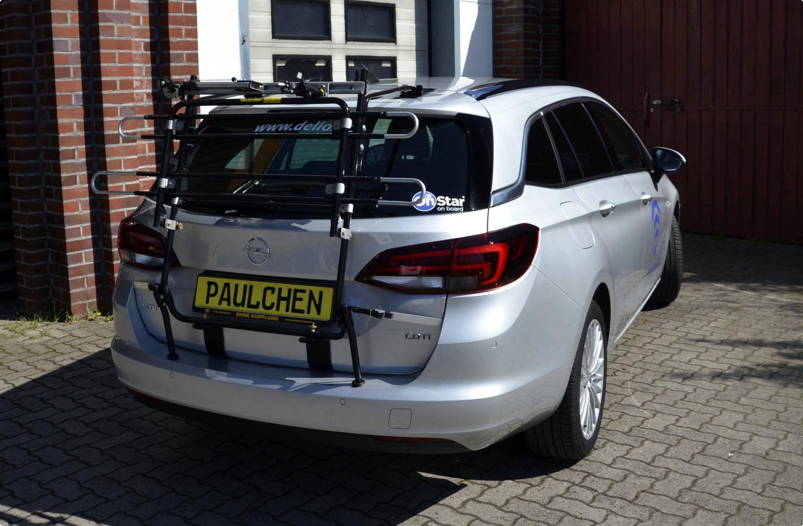 fahrradträger für opel astra k sports tourer - paulchen heckträger