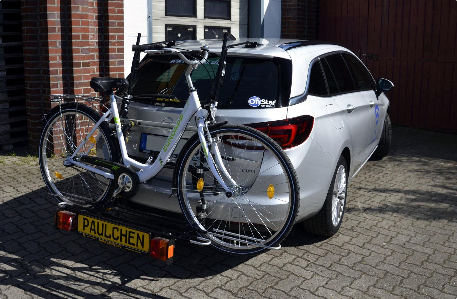 bicycle carrier for opel astra k sports tourer paulchen. Black Bedroom Furniture Sets. Home Design Ideas