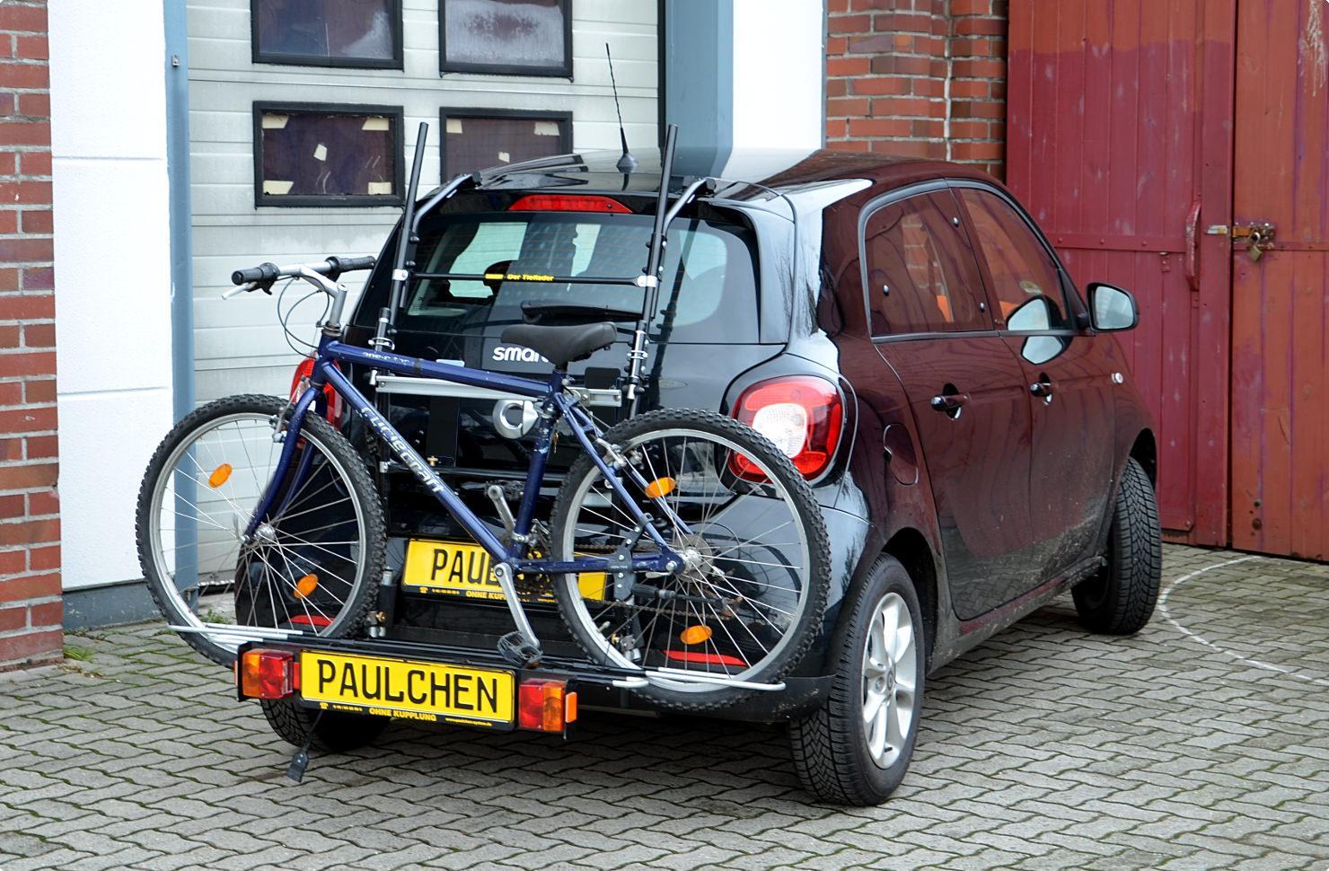 fahrradtr ger f r smart forfour 453 paulchen. Black Bedroom Furniture Sets. Home Design Ideas