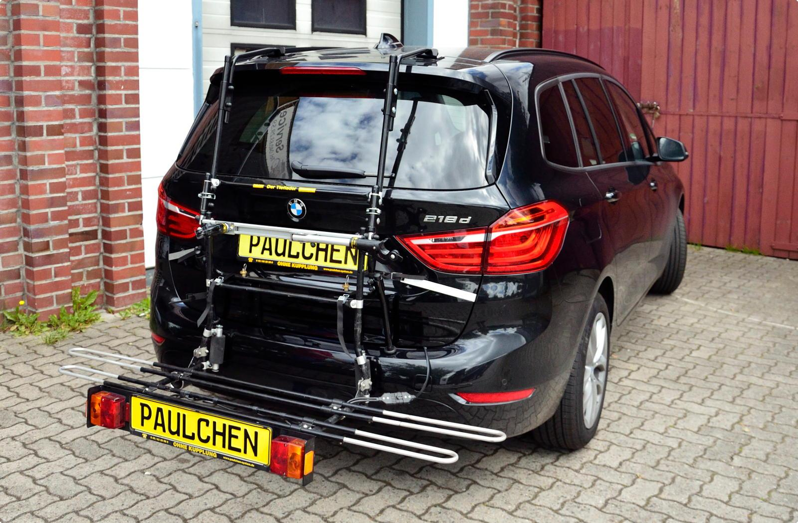 Bicycle carrier for BMW 2er Gran Tourer (F46) - Paulchen ...