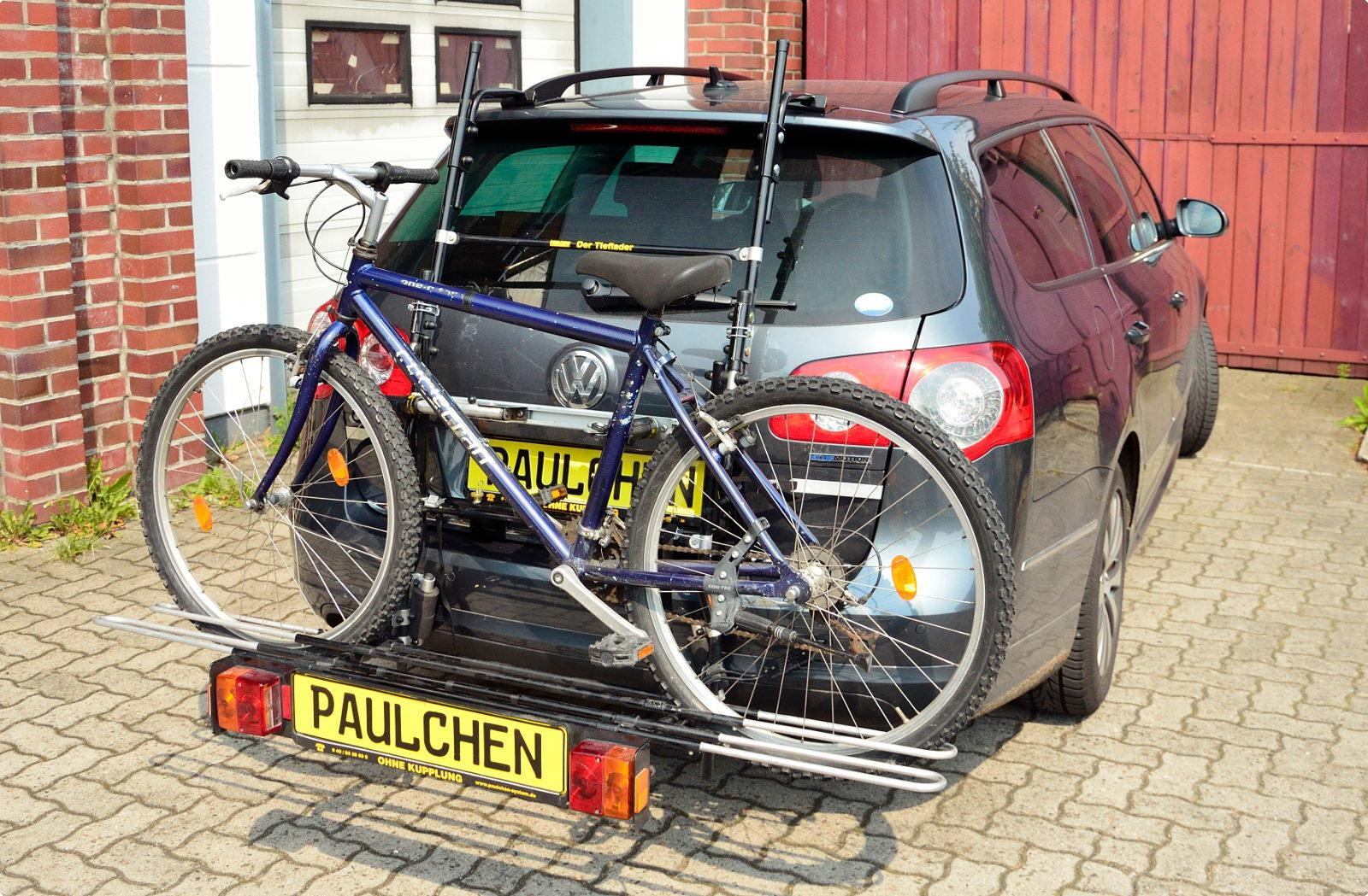 bike rack for vw passat variant b6 3c paulchen hecktr ger system paulchen hecktr ger. Black Bedroom Furniture Sets. Home Design Ideas