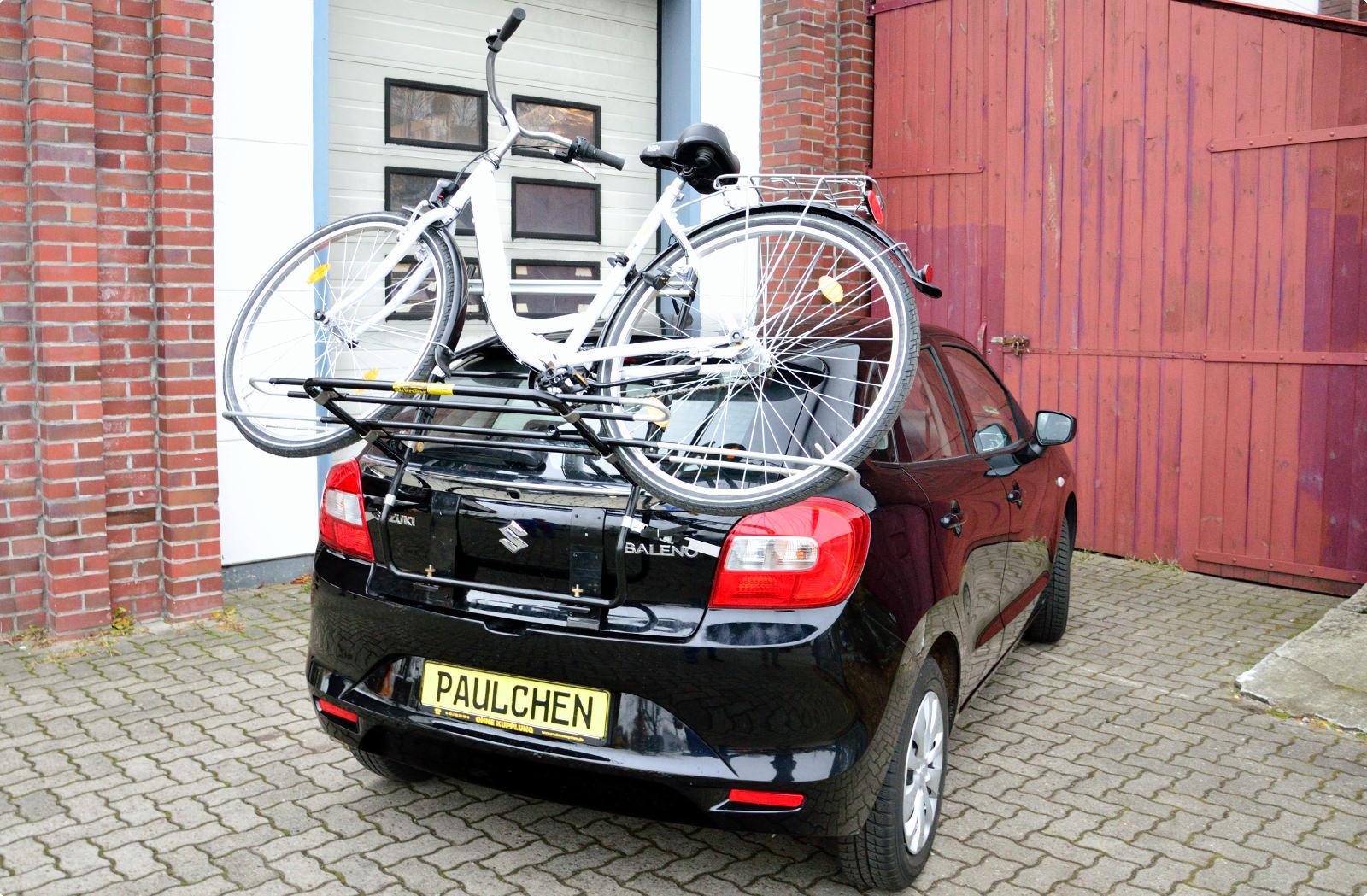Bicycle Carrier For Suzuki Baleno Paulchen Hecktr 228 Ger