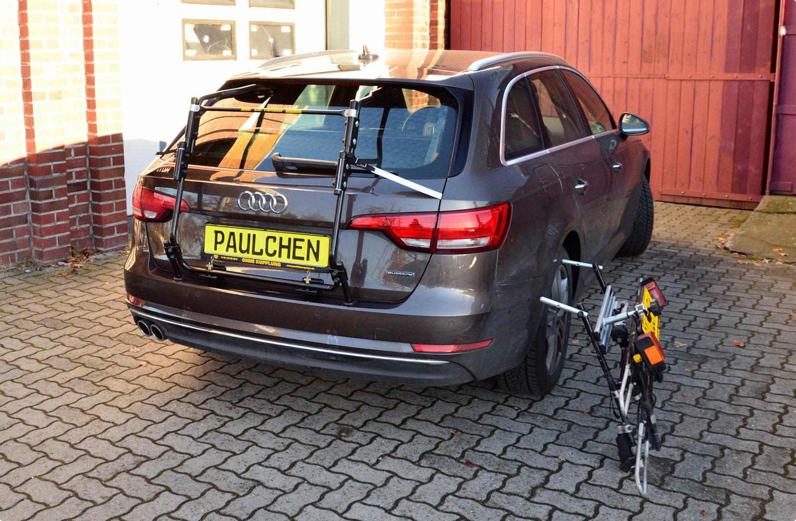 Bicycle Carrier For Audi A4 Avant B9 Paulchen Heckträger System