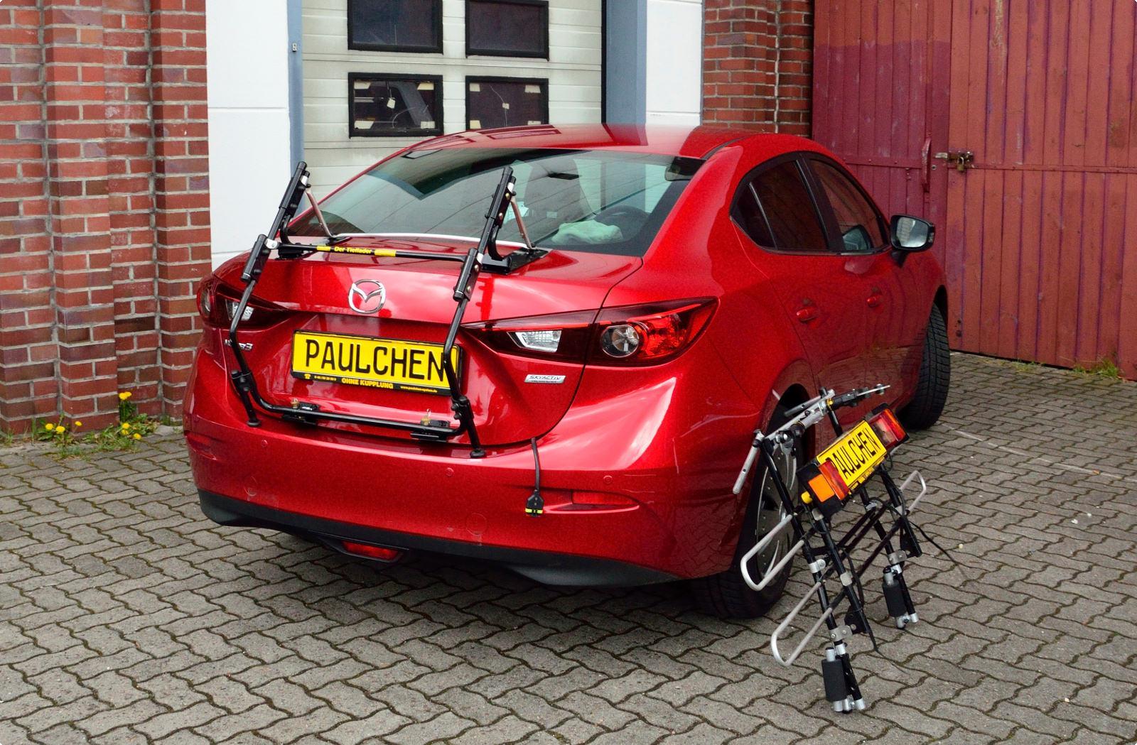 Mazda 3 Saloon. Bike Carrier ...