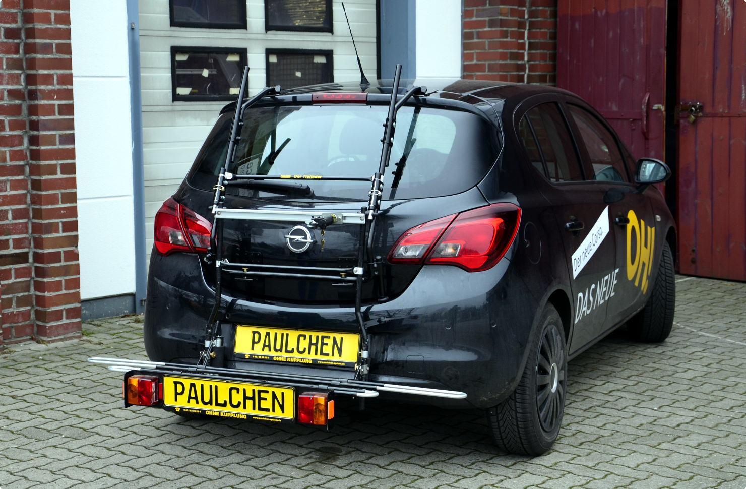 Opel Corsa E Bike Rack Paulchen Hecktr 228 Ger System