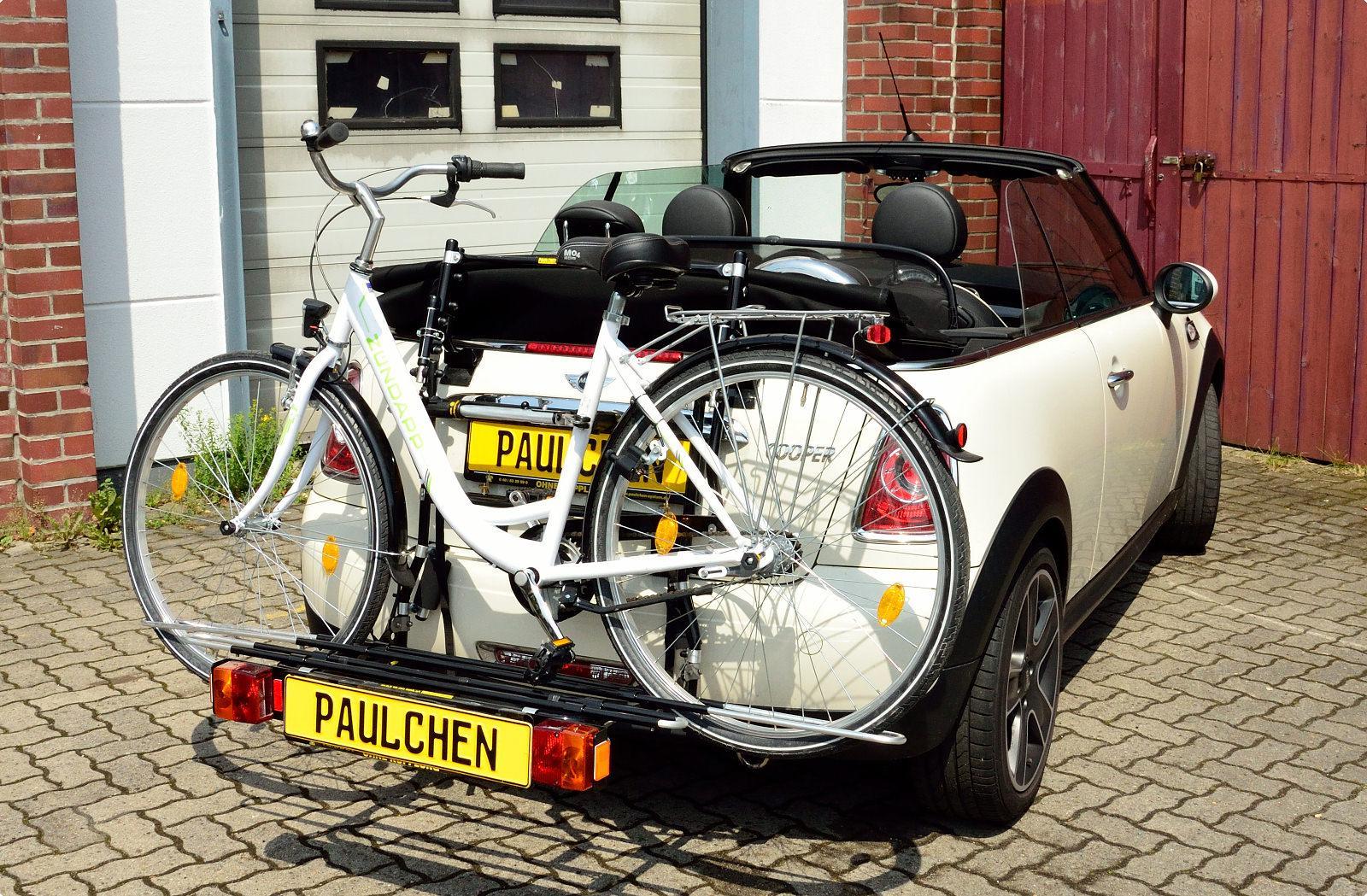 Mini Cooper Convertible Bike Rack