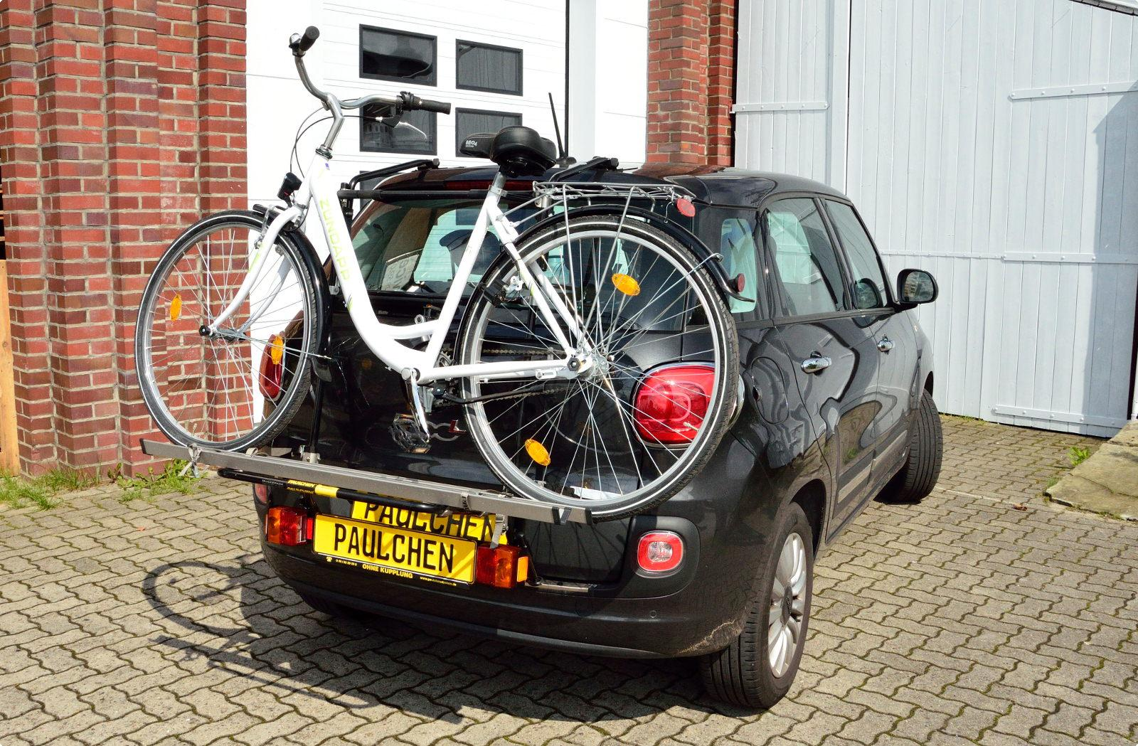 Bicycle Carrier For Fiat 500l 199 Paulchen Hecktr 228 Ger