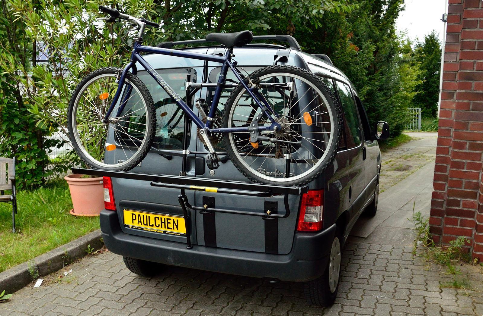 fahrradtr ger f r citroen berlingo i paulchen hecktr ger. Black Bedroom Furniture Sets. Home Design Ideas