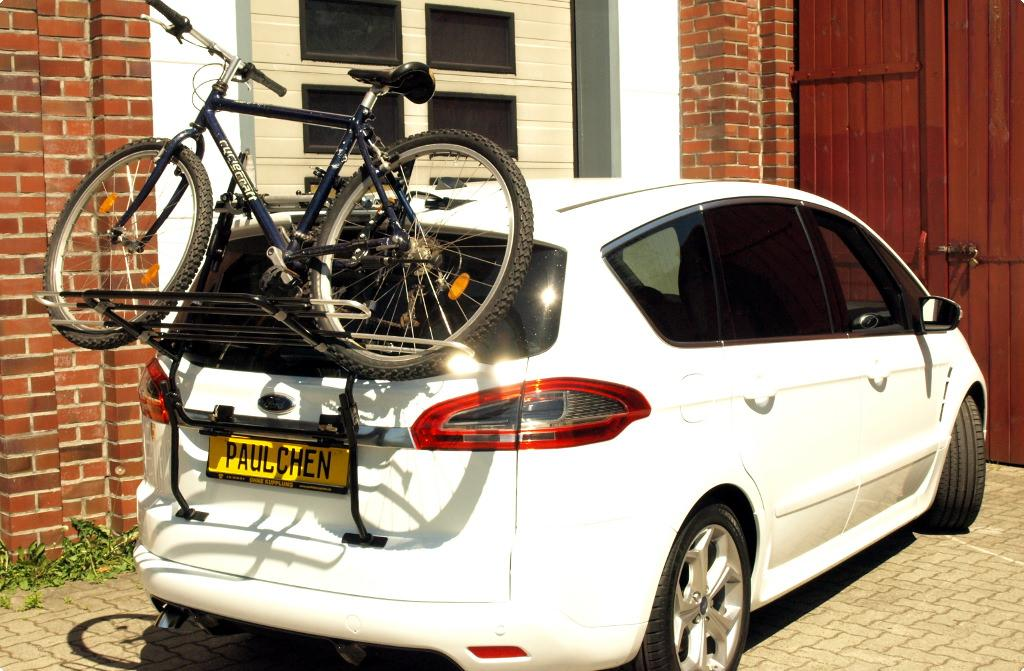 Moving Company Reviews >> Bicycle carrier for Ford S-Max (WA6) - Paulchen Heckträger ...