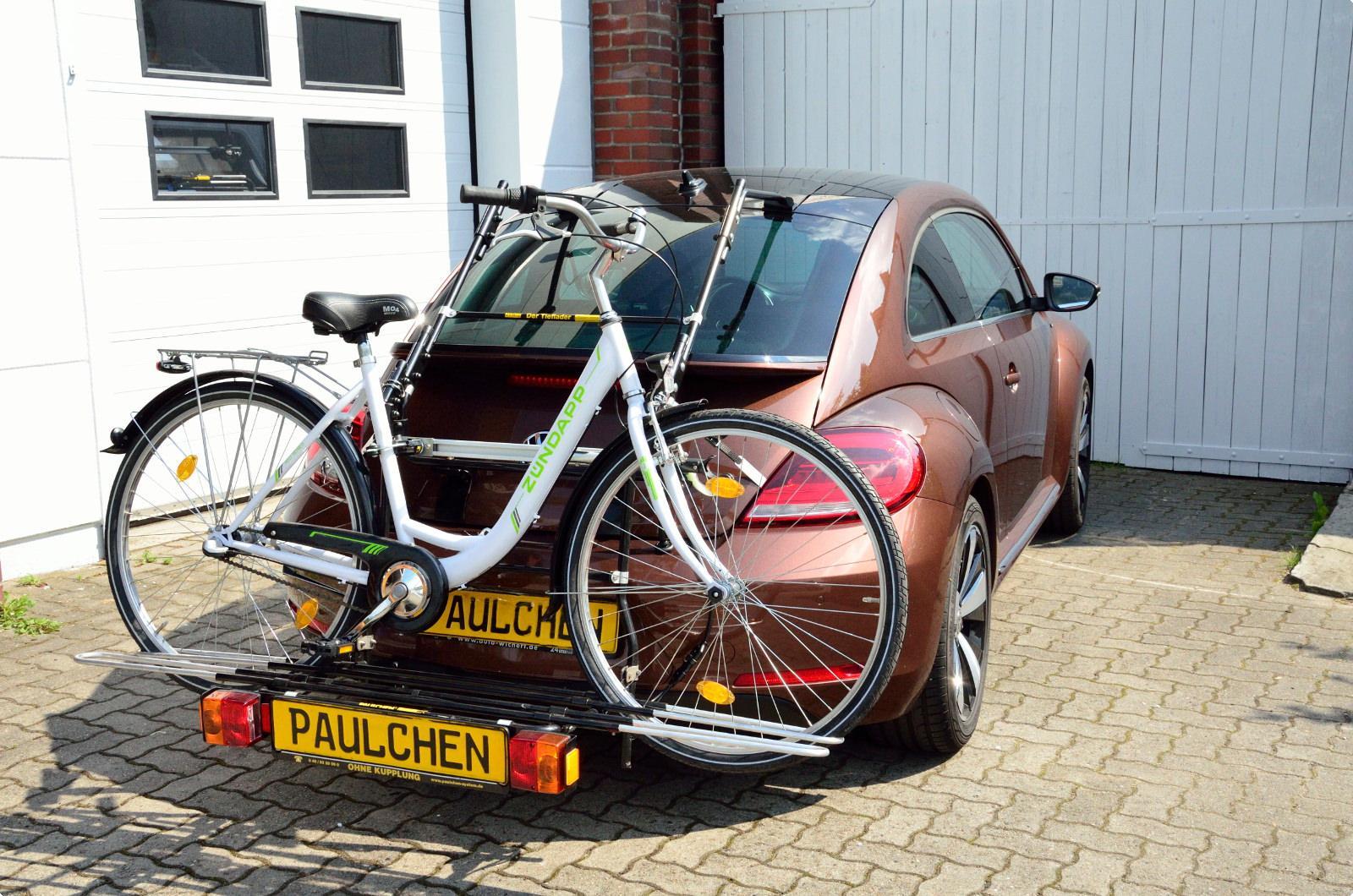 fahrradtr ger f r vw beetle 5c2 paulchen hecktr ger. Black Bedroom Furniture Sets. Home Design Ideas