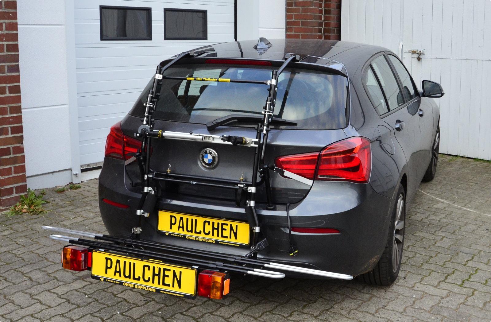 Bicycle Carrier For Bmw 1er Facelift F20 Paulchen Hecktrager System Fahrradtrager