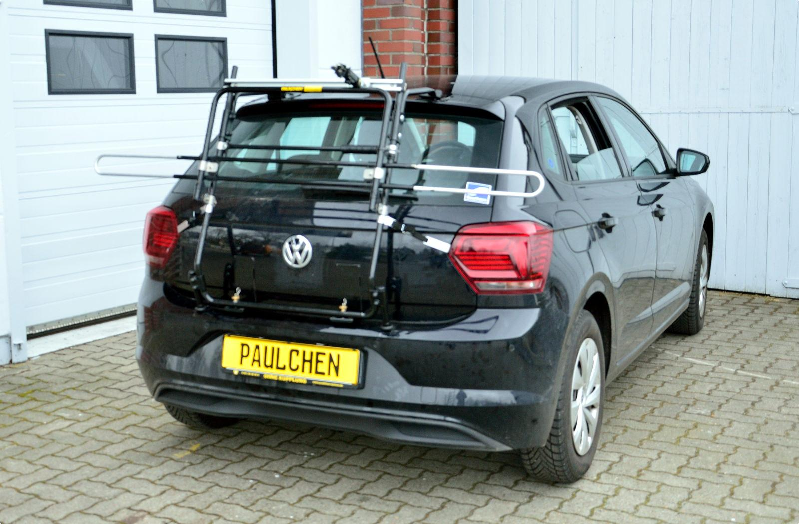 bicycle carrier for vw polo vi aw paulchen hecktr ger. Black Bedroom Furniture Sets. Home Design Ideas