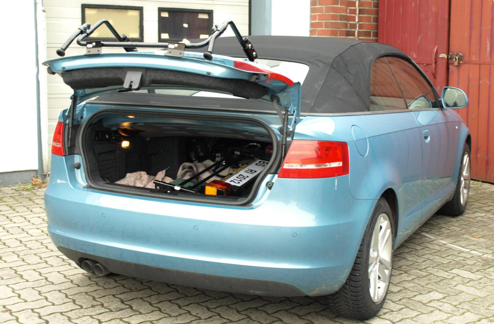 Bicycle Carrier For Audi A3 Cabrio 8p Paulchen