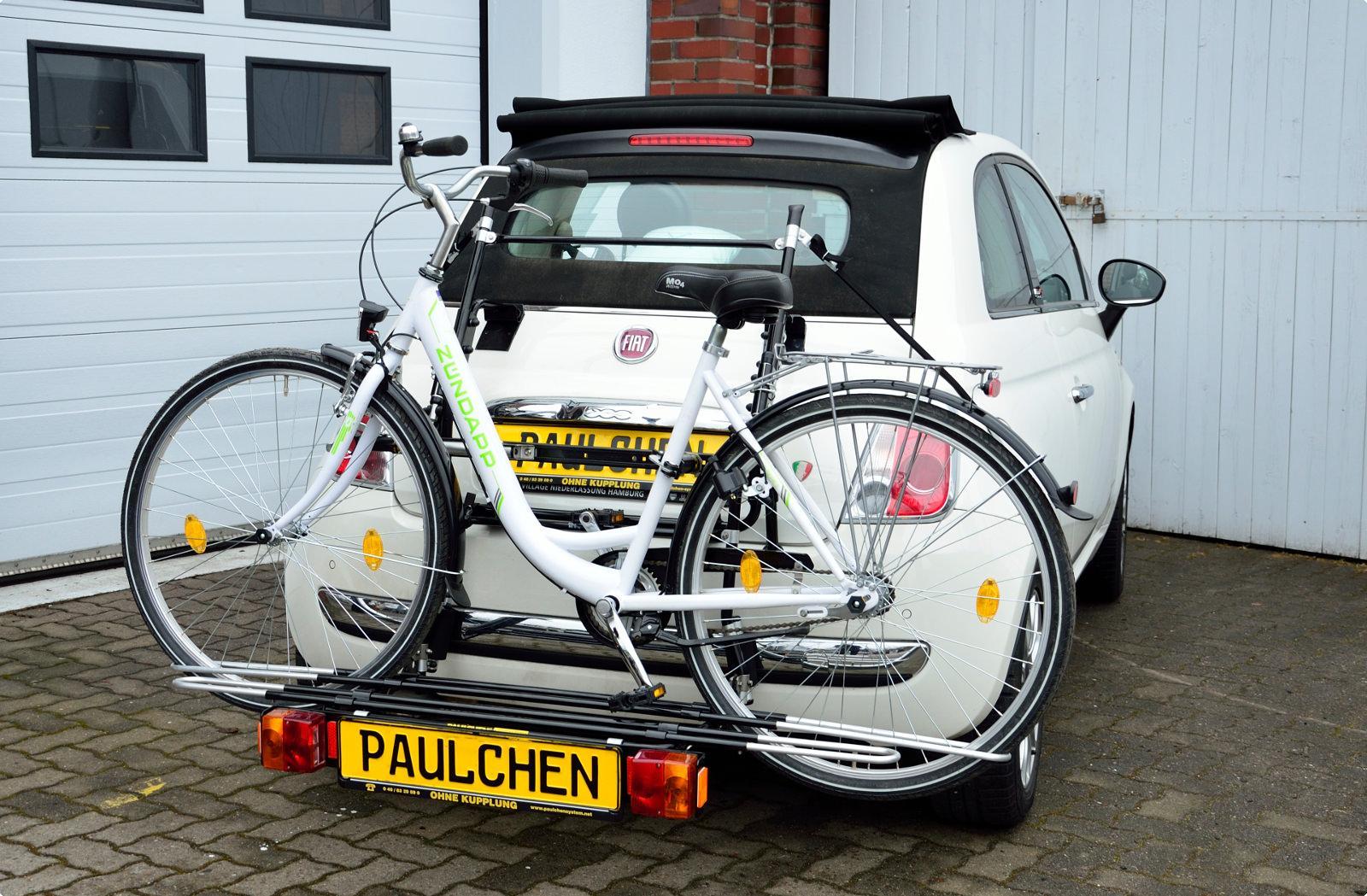 fahrradtr ger f r fiat 500 cabrio 312 paulchen. Black Bedroom Furniture Sets. Home Design Ideas