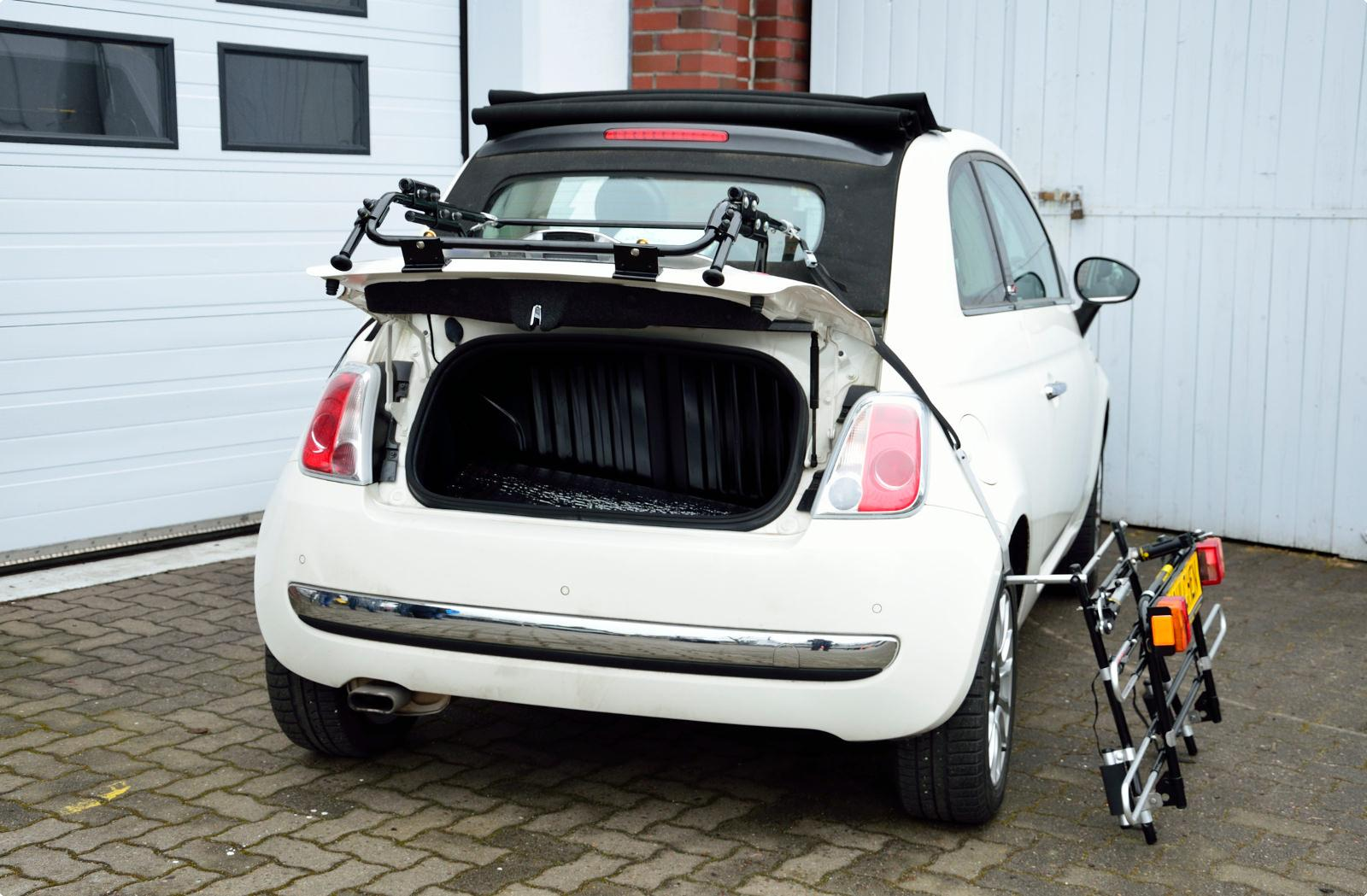 Bicycle Carrier For Fiat 500 Cabrio 312 Paulchen