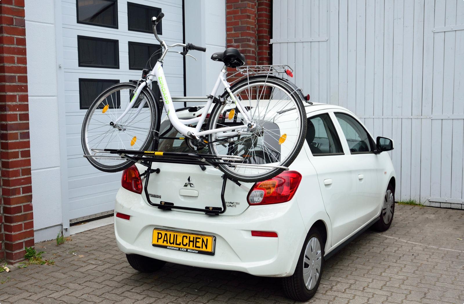 fahrradtr ger f r mitsubishi space star facelift. Black Bedroom Furniture Sets. Home Design Ideas