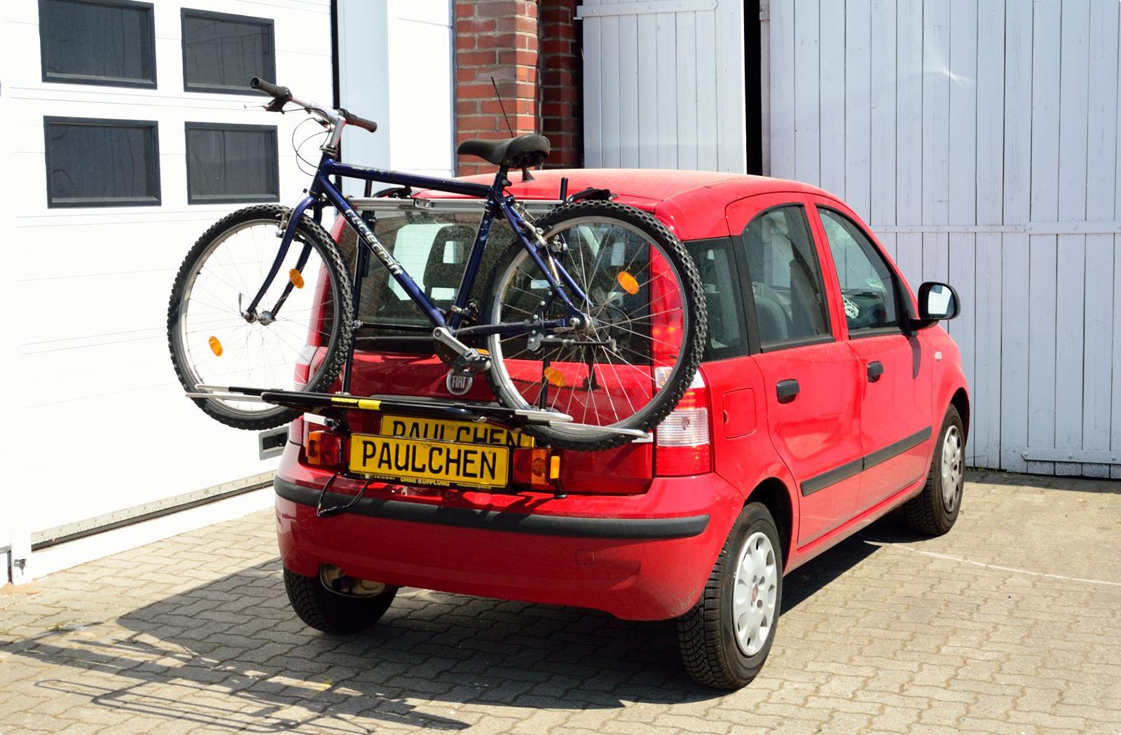 bicycle carrier for fiat panda 169 paulchen hecktr ger system fahrradtr ger. Black Bedroom Furniture Sets. Home Design Ideas