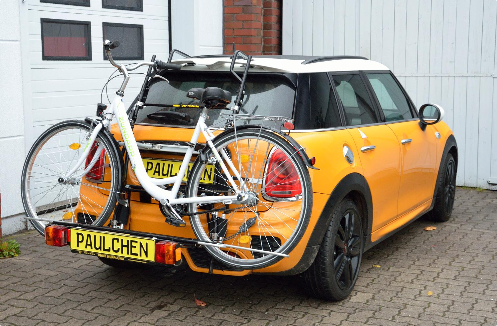 Fahrradträger Für Mini Cooper Jcw F55 Paulchen Heckträger System