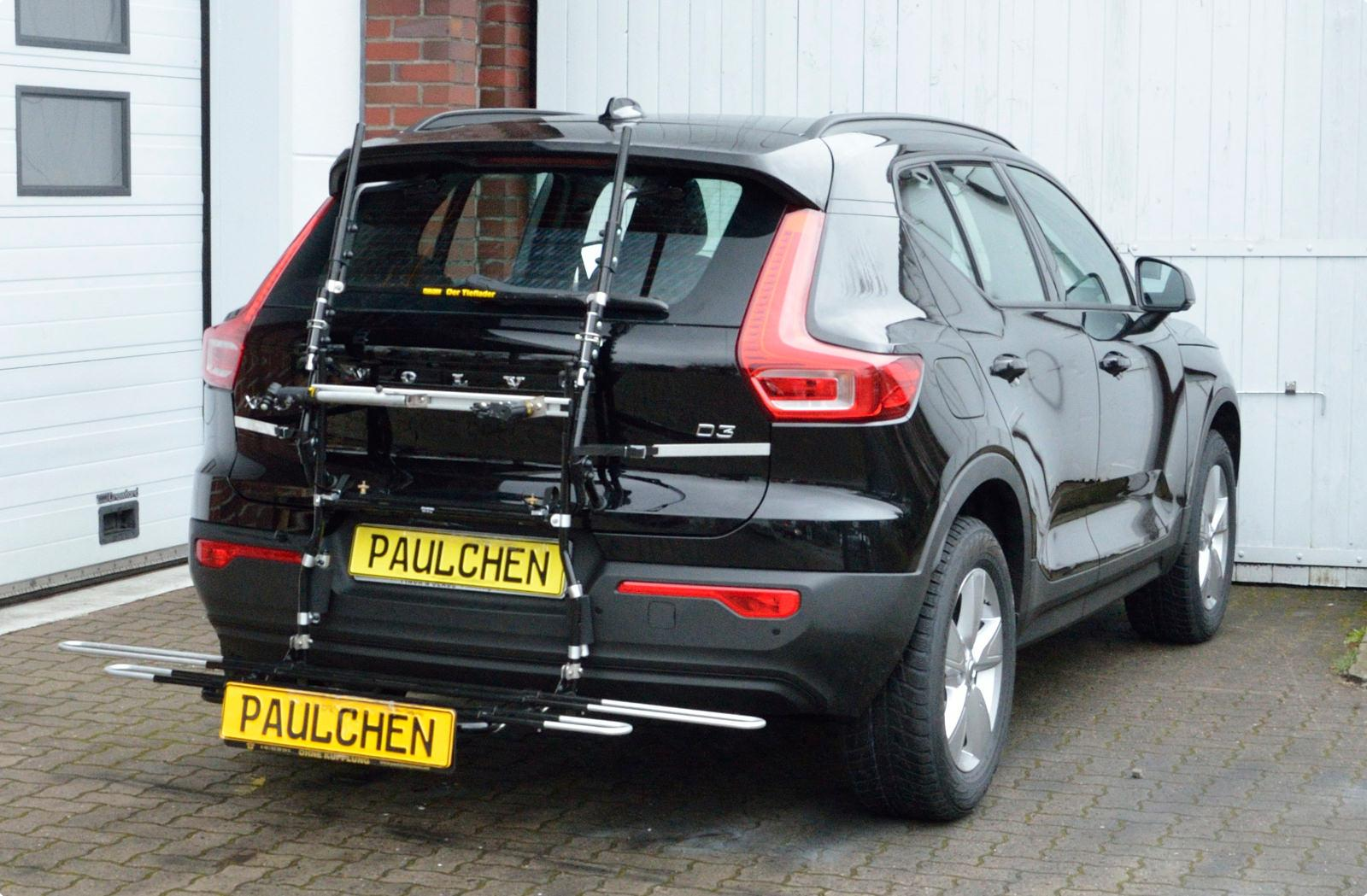 Bicycle carrier for Volvo XC40 (536) - Paulchen Heckträger System