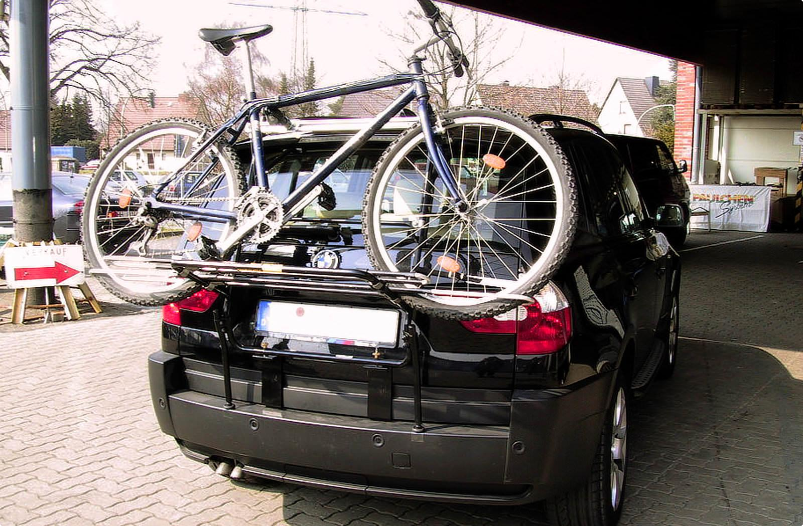 Bicycle Carrier For Bmw X3 E83 Paulchen Hecktrager