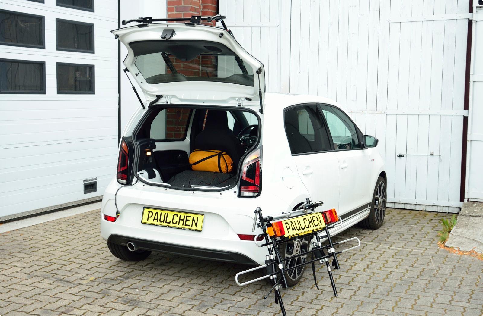 fahrradtr ger f r vw up paulchen hecktr ger system fahrradtr ger. Black Bedroom Furniture Sets. Home Design Ideas