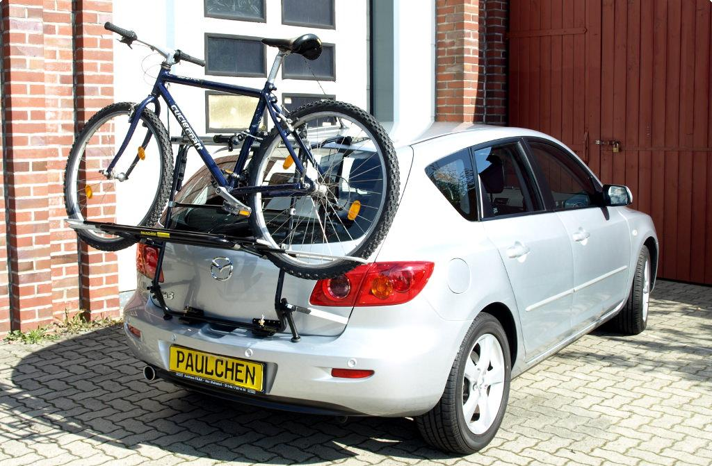 Bicycle Carrier For Mazda 3 Bk Paulchen Hecktrager System