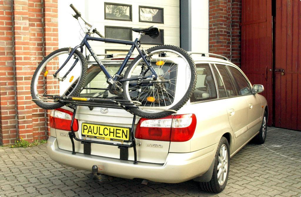 fahrradtr ger f r mazda 626 kombi gw paulchen hecktr ger system fahrradtr ger. Black Bedroom Furniture Sets. Home Design Ideas