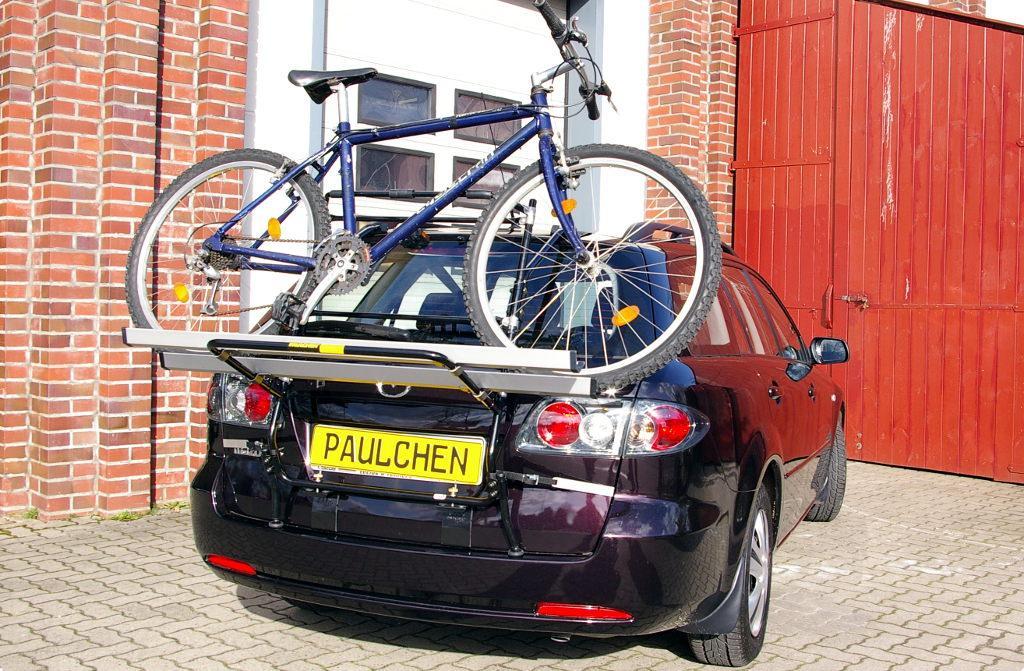 fahrradtr ger f r mazda 6 kombi gy paulchen hecktr ger system fahrradtr ger. Black Bedroom Furniture Sets. Home Design Ideas