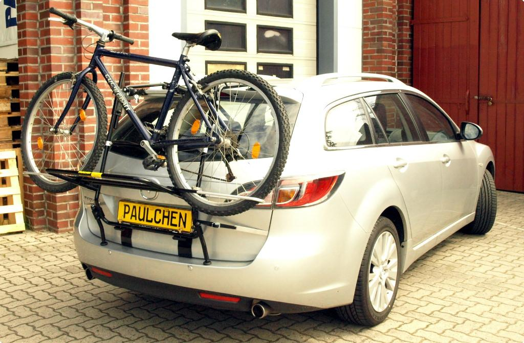 fahrradtr ger f r mazda 6 sport kombi gh paulchen hecktr ger system fahrradtr ger. Black Bedroom Furniture Sets. Home Design Ideas