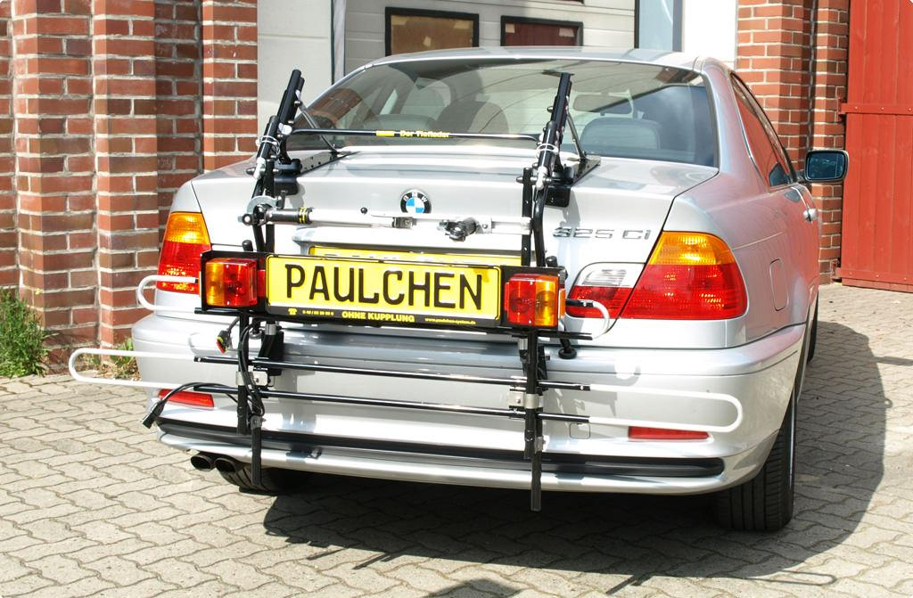 bicycle carrier for bmw 3er coup e46 paulchen. Black Bedroom Furniture Sets. Home Design Ideas