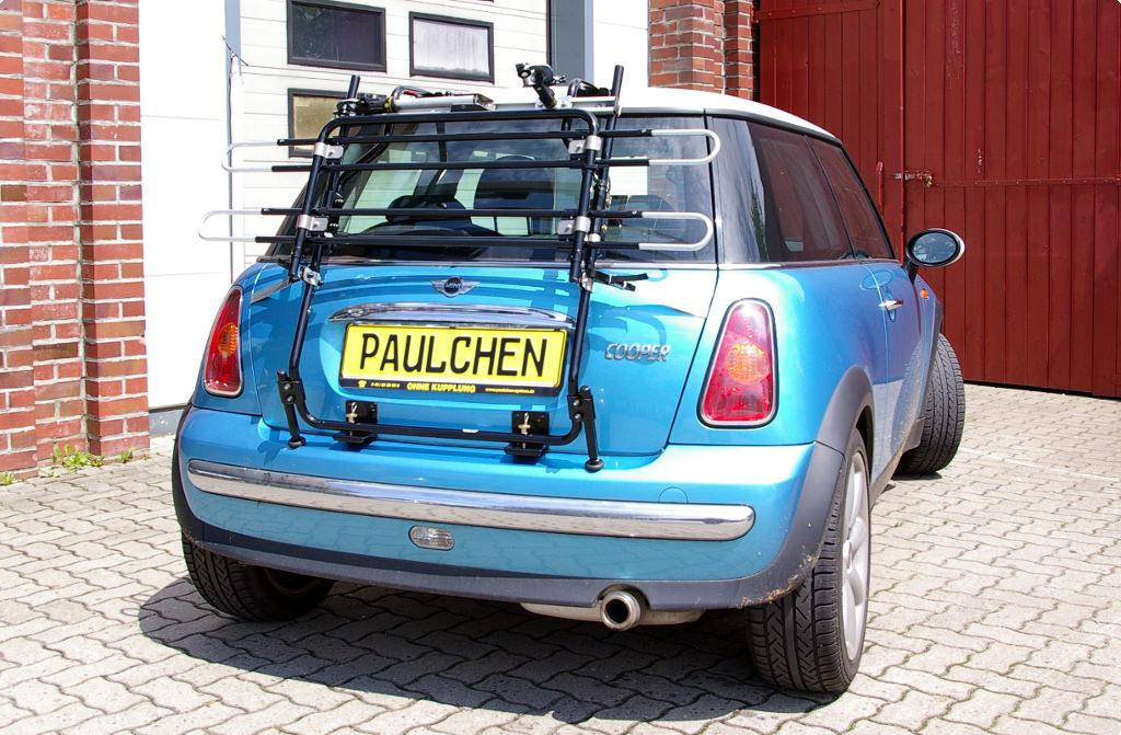 Bicycle Carrier For Mini Cooper Mini One R50 Paulchen