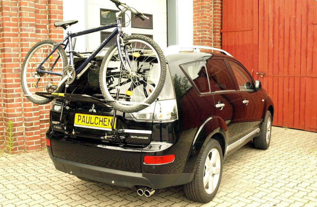 Mitsubishi Outlander Bike Rack