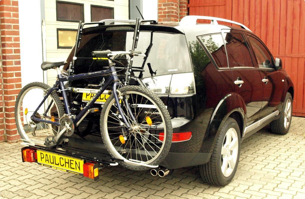 mitsubishi outlander fahrradtr ger am heck paulchen. Black Bedroom Furniture Sets. Home Design Ideas