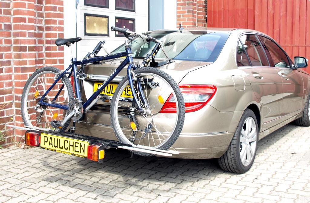 mercedes c klasse fahrradtr ger am heck paulchen. Black Bedroom Furniture Sets. Home Design Ideas