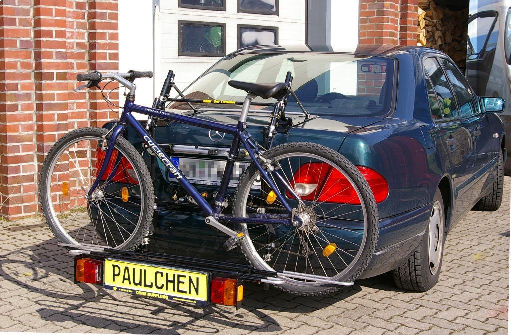 mercedes e klasse bike rack paulchen hecktr ger system. Black Bedroom Furniture Sets. Home Design Ideas