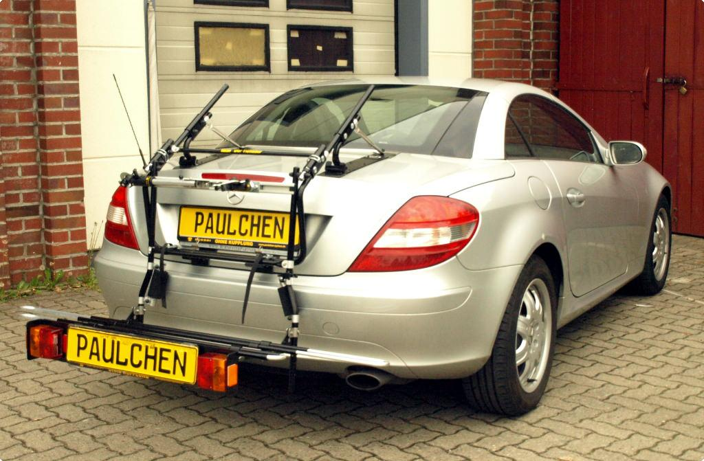 bicycle carrier for mercedes slk cabrio r171 paulchen. Black Bedroom Furniture Sets. Home Design Ideas