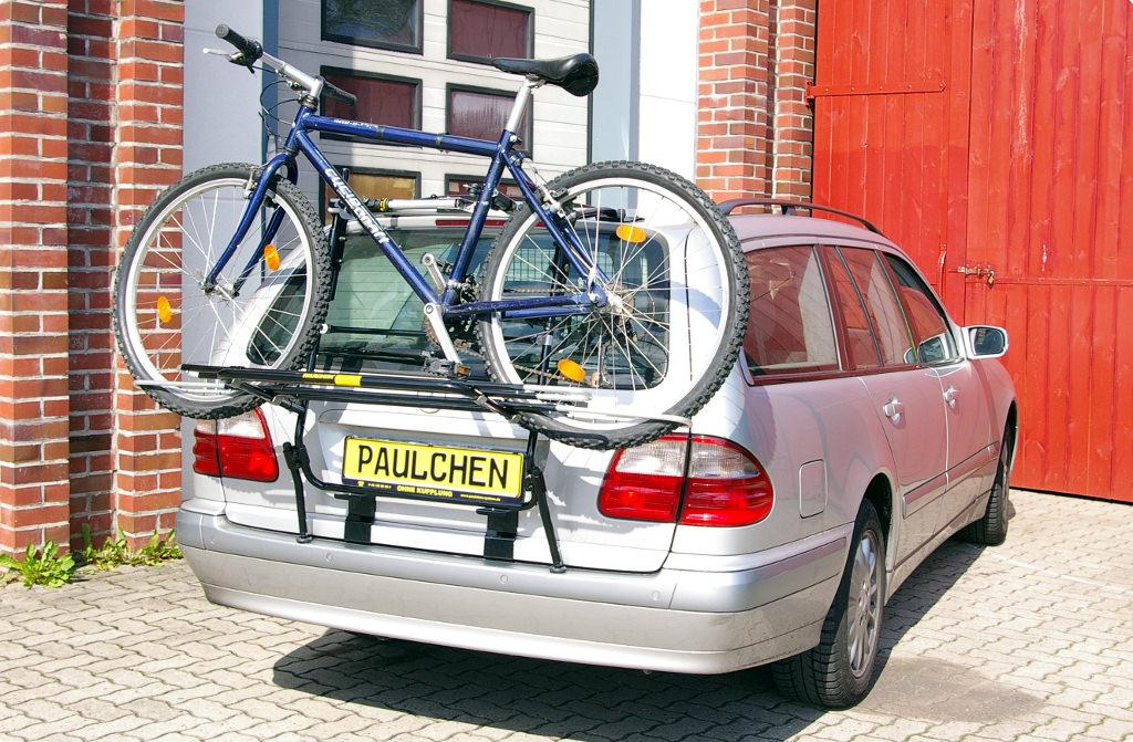 bicycle carrier for mercedes e klasse t modell s210. Black Bedroom Furniture Sets. Home Design Ideas
