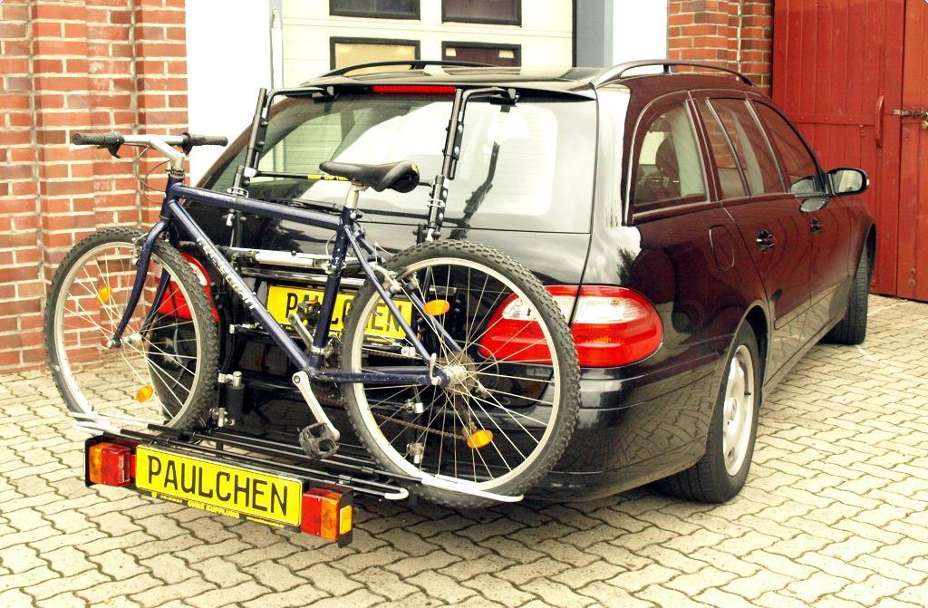 bicycle carrier for mercedes e klasse t modell s211. Black Bedroom Furniture Sets. Home Design Ideas