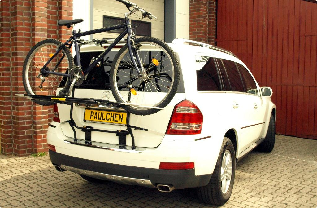 bicycle carrier for mercedes gl x164