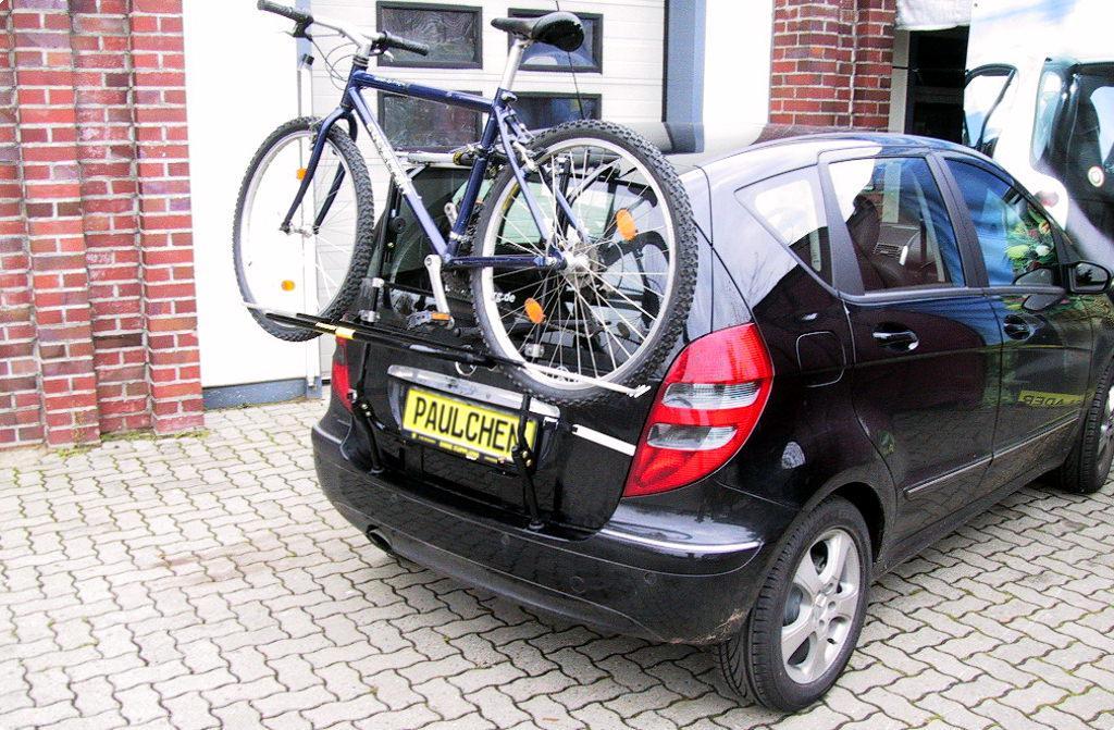 Mercedes A W169 Bj 2004-2012 Fahrradträger Heckklappe für 3 Fahrräder Heckträger
