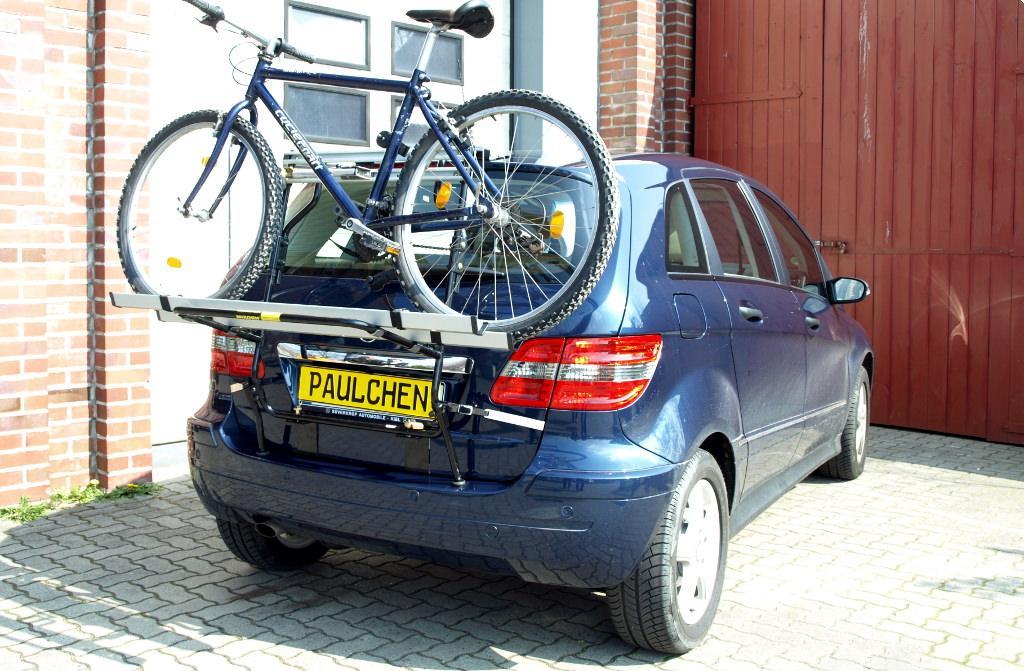 fahrradtr ger f r mercedes b klasse w245 paulchen. Black Bedroom Furniture Sets. Home Design Ideas